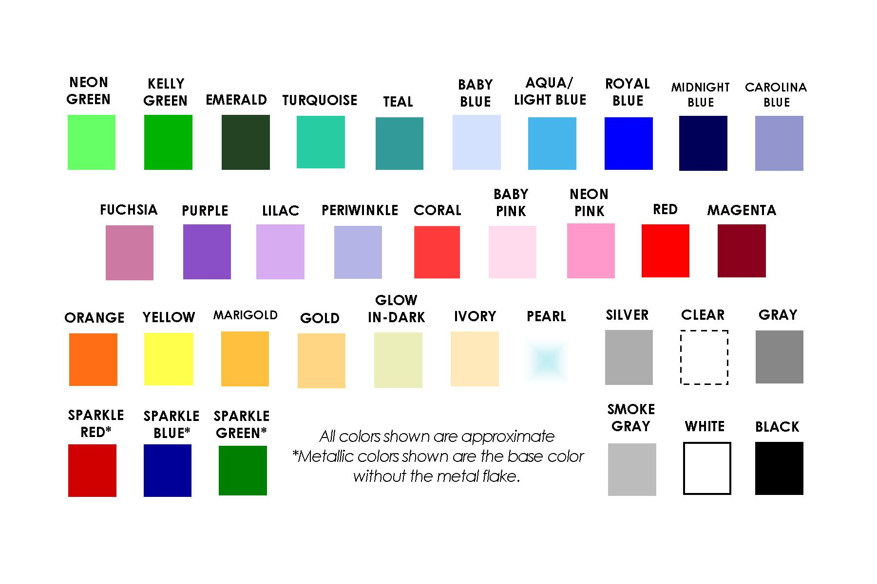 Catalog of orthodontic products by auradonics here you can download a printable color chart nvjuhfo Gallery